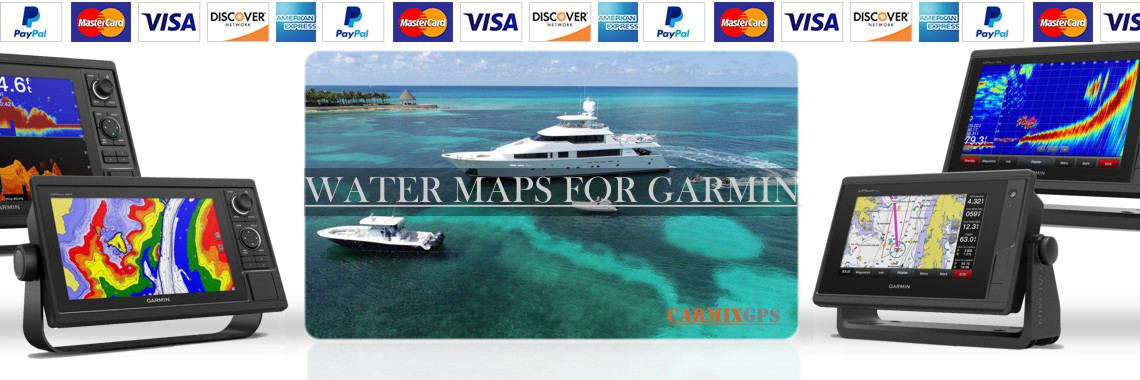 Garmin Water maps