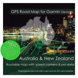 Australia & New Zealand Road Map for Garmin Devices