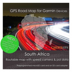 South Africa Road Map for Garmin Devices
