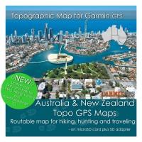 Australia Topo Map for Garmin Devices