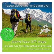 Alpine Topo Map for Garmin Devices