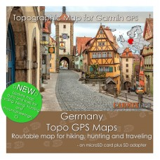 Germany Topo Map for Garmin Devices