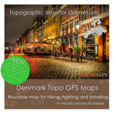 Denmark Topo Map for Garmin Devices