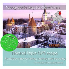 Finland Topo Map for Garmin Devices