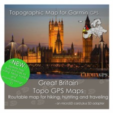 Great Britain Topo Map for Garmin Devices
