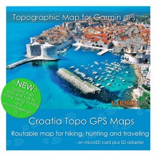 Croatia Topo Map for Garmin Devices